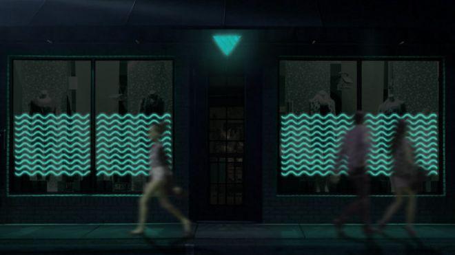 A ideia é utilizar o método, que não consome eletricidade, para iluminar lojas, prédios, pontos de ônibus e placas de sinalização