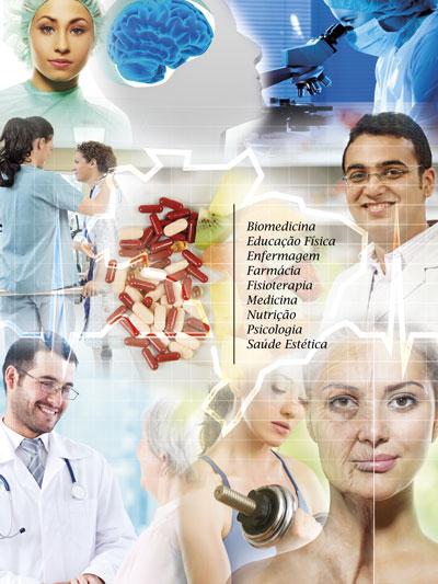 O evento abrange nove áreas de conhecimento relacionadas à saúde.