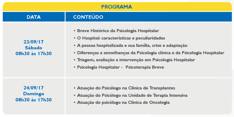 psico hospitalar