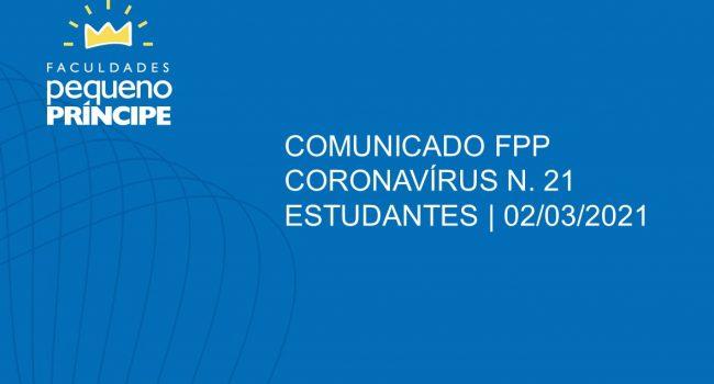 COMUNICADO 21