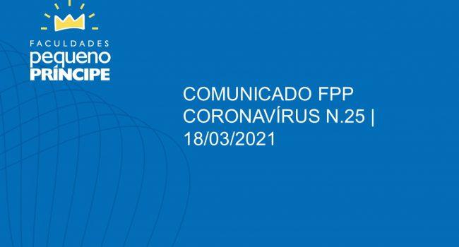Comunicado 25